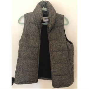 Old Navy Herringbone Vest